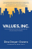 Values, Inc.: How Incorporating Values into Business and Life Can Change the World
