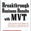 Breakthrough Business Results with MVT: A Fast, Cost-Free,
